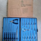 Penda 21 Piece Precision Tool Kit Model #1064 with Molded Carry Case - New in Box!