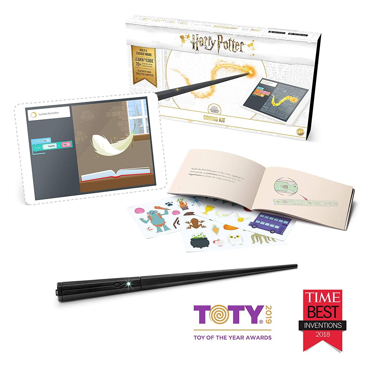 Kano Harry Potter Coding Kit � Build a Wand. Learn To Code. Make Magic.
