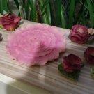 Vintage Popular Imports Polystone Resin 10 Piece Mini Tea Set 'Pink Roses' - NIB - RARE!