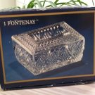 Cristal d'Arques Paris Fontenay Hand Blown Lead Crystal Rectangular Trinket Box - Le Chic Everyday!