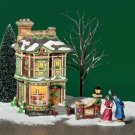 Department 56 Dickens Village Series VICTORIAN FAMILY CHRISTMAS HOUSE - NOS!