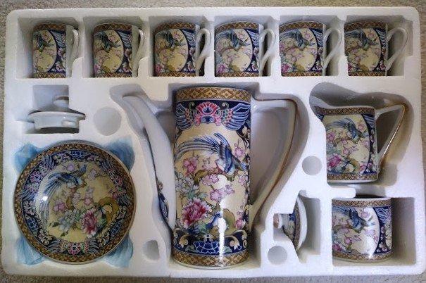 Vintage 17-piece Japanese Coffee / Tea Set Original Design #956 NEW!