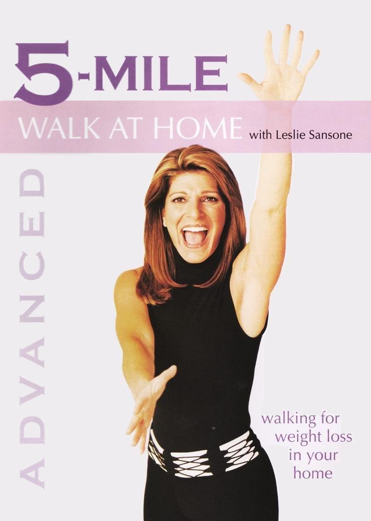 Leslie Sansone: Walk At Home - Advanced 5-Mile Walk DVD - Factory sealed!