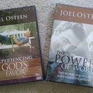 JOEL OSTEEN Experiencing God's Favor DVD AND The Power of Words DVD - NEW!!