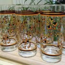 Vintage Libbey Halloween Jack O' Lantern Faces Glasses Tumblers - Set of 8 - New with Tags!
