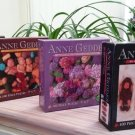 "Anne Geddes Baby Photography Miniature Puzzle Collection 100 Piece Jigsaw Puzzle 9"" X 7"" - Set of 4!"