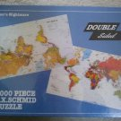 F.X. Schmid 1000 Piece Puzzle 'Navigators Nightmare' - Double Sided - Factory Sealed!