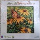 Birds & Butterflies 550 Piece Puzzle Monarch Butterfly by Sure-Lox