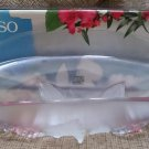 "Calypso 18 1/4"" Large Oval Fruit Bowl Frosted Pastel Giftware by Mikasa!"