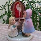GOEBEL Little Girl and Angel at Roadside Shrine TMK6 - Goebel W. Germany 44055-13