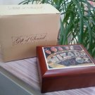 Wizard of Oz 'Over the Rainbow' Musical Trinket Box-Original 1939 Movie Poster Reproduction Top!