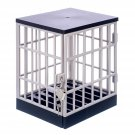 Stupidiotic Cell Block Cell Phone Jail with Lock and Key, Holds Up to 6 Devices
