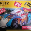 Stanley Racing Car Mechanic Kit, Blue Build & Play, 281 Pieces, Tools Included