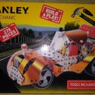 Stanley Racing Car Mechanic Kit, Orange Build & Play, 278 Pieces, Tools Included