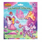 Imaginetics Enchanted Unicorns Magnetic Play Set - 30 Magnets - Perfect for Travel