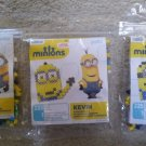 Despicable Me Minions Fused Bead Kits - Lot of 3 - BOB, KEVIN & STUART by Perler
