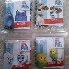 The Secret Life of Pets Fused Bead Kits - Lot of 4 - CHLOE MAX GIDGET & SWEETPEA by Perler