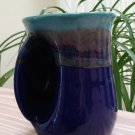 Neher 'Mystic Water' Handwarmer Mug - 14 ounce Left Handed by Clay in Motion of Oregon, USA!