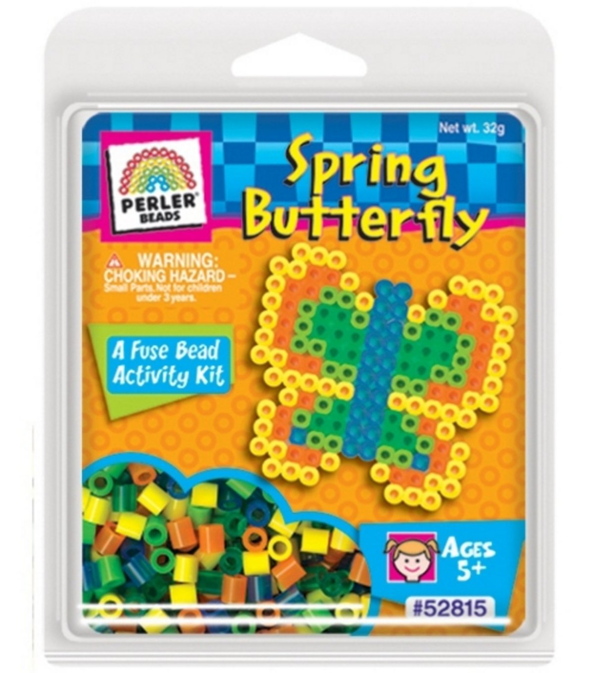 Perler Activity Trial Size Fuse Bead Activity Kit - Spring Butterfly #52815