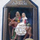 The Legend of Las Posadas Christmas Ornament by Roman Inc. -Joseph & Mary on a Donkey