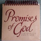 Promises of God Catholic Edition Daybrightener Perpetual Calendar - Easel Stand!