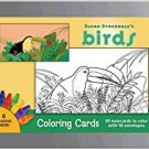 PomegranateKids Susan Stockdale:Birds Coloring Card Set in Decorative Tin!