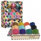 Chroma Cube Logic Game with 25 Puzzles for Adults, IQ Game, Award Winning Brain Teaser!