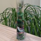 IRELAND KILKENNY JERPOINT Glass Studio Hand Crafted Art Glass Candle Holder