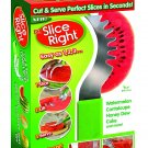 EZ Slice Right Melon & Cake Slicer - Cut & Serve Perfect Slices - As Seen On TV