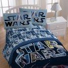 Disney Star Wars Space Battle Full Bed Sheet Set Multi!