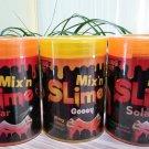Grin Studios Amazing Mix'n Slime - Lot of 3 - SOLAR Changes Color Under Sunshine & Gooey!