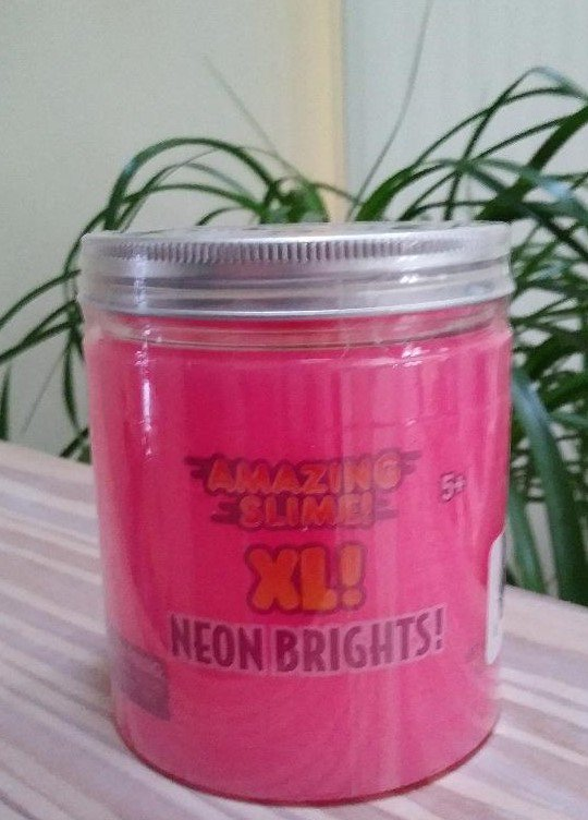 Grin Studios Amazing Slime XL Neon Brights - Hot Pink!