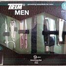 TRIM - Men's 9 Piece Travel Grooming Essentials Set & Zippered Case!