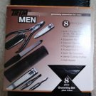 TRIM - Men's 8 Piece Travel Grooming Essentials Set with 4-in-1 Pocket Tool & Case!