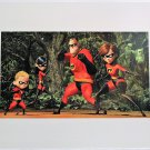 """Disney The Incredibles Collectible Original Studio Lithograph Best Buy Exclusive (2004) - 11"""" x 14""""!"""
