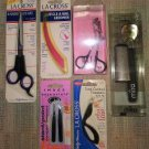 LOT #1 OF 7 PERSONAL CARE IMPLEMENTS - SCISSORS, TWEEZERS, CALLUS SMOOTHER and MORE - NEW!