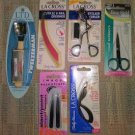 LOT #2 OF 7 PERSONAL CARE IMPLEMENTS - SCISSORS, TWEEZERS, CALLUS SMOOTHER and MORE - NEW!