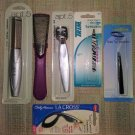 LOT #4 OF 6 PERSONAL CARE IMPLEMENTS - PEDICURE KIT, TWEEZERS, CALLUS REDUCER - NEW!