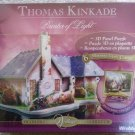 Thomas Kinkade Painter of Light 'Morning Glory Cottage' 3D Panel Puzzle #6 by Puzz3D!
