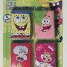 Nickelodeon Spongebob Squarepants Set of 4 Mini Playing Cards!