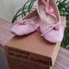 Bear-lerina Handmade Ballerina Slippers - Youth Size 3 - New in Box!