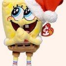 TY BEANIE BABY - RETIRED -  SpongeBob - Jolly Elf by 5Star-TD - NEW WITH TAG!