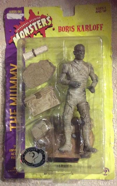 """Universal Studios Monsters 8"""" The Mummy Action Figure by Sideshow Toy - 1999!"""