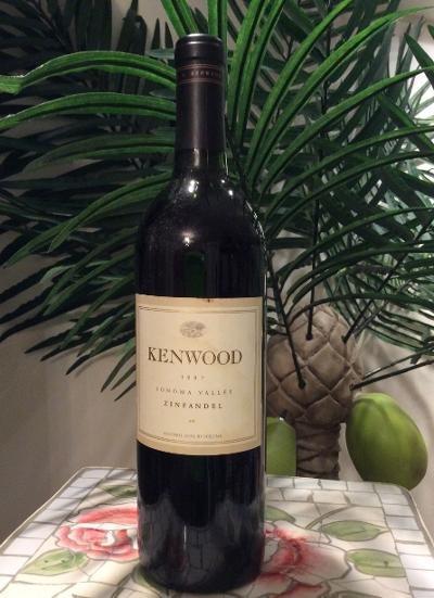 1997 Kenwood Sonoma Valley Zinfandel 750ml Bottle of Wine!