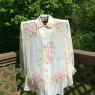 Vintage Victoria's Secret Top/Cover-Up/Robe GORGEOUS - Large - NWT!