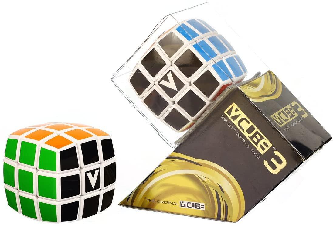 V-Cube 3b White Pillowed Classic Speedcube!
