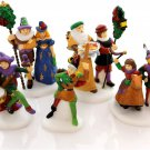 Department 56 Dickens The Heritage Village Here we Come A-Wassailing Porcelain - Set of 5 - #58410!