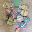 HIP + HOP Easter Eggs Multi Color Felt 6 ft. Garland!