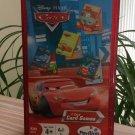 Disney Pixar Cars - 4 Card Games - CRAZY EIGHTS; RUMMY; GO FISH & WAR!