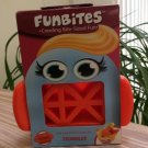 FunBites Food Cutter for Kids, Orange Triangles by FUNTASTIC!